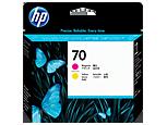 HP C9406A Печатающая головка пурпурная и желтая HP 70 для Designjet Z5200, Z2100, Z3100, Z5400, Z3200