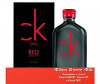 Calvin Klein One Red Edition For Him туалетная вода объем 100 мл Тестер (ОРИГИНАЛ)