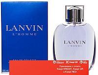 Lanvin L`Homme туалетная вода объем 100 мл Тестер (ОРИГИНАЛ)