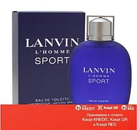 Lanvin L`Homme Sport туалетная вода объем 100 мл (ОРИГИНАЛ)