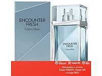 Calvin Klein Encounter Fresh туалетная вода объем 100 мл тестер (ОРИГИНАЛ)