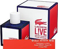 Lacoste Live туалетная вода объем 100 мл Тестер (ОРИГИНАЛ)