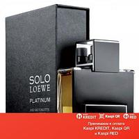 Loewe Solo Loewe Platinum туалетная вода объем 100 мл (ОРИГИНАЛ)