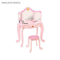 Туалетный столик с зеркалом для девочки «Принцесса»