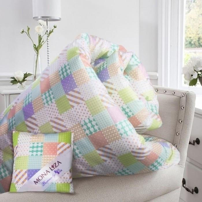 Одеяло Lavender, размер 195 х 215 см, + саше с ароматом лаванды, тик