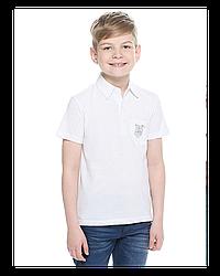 """Футболка для сублимации """"Поло"""" (р-р:28) """"Fashion kid"""" цвет: белый"""