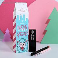 Набор New girls Year (стойкая помада, карандаш и кисточка для губ)