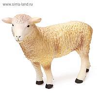 Фигурка животного «Домашняя овца», длина 28 см