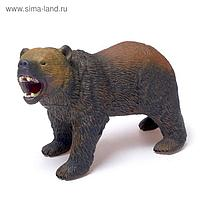 Фигурка животного «Бурый медведь», длина 28 см