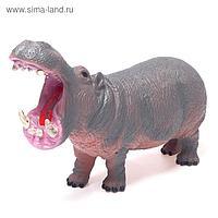 Фигурка животного «Бегемот», длина 26 см