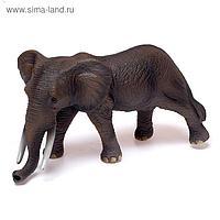 Фигурка животного «Саванный слон», длина 32 см