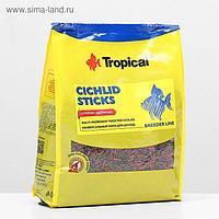 Корм для цихлид Cichlid Sticks в виде плавающих палочек, 1 кг