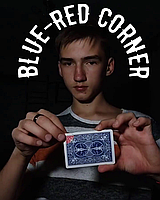 Blue-Red corner