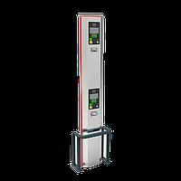 Двухуровневая автоматическая выездная стойка