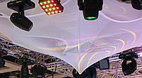 EUROPALMS Sprinkler Stretch FlrDIN4102 wh 300x100cm специализированная сетчатая ткань