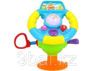 Развивающая игрушка HuiLe Toys Музыкальный руль 916