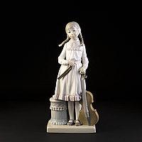 Девочка со скрипкой. Фарфоровая мануфактура Lladro