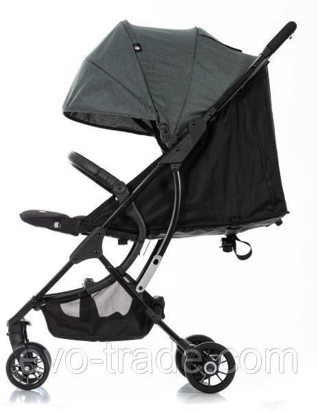 Прогулочная коляска Evenflo  Zipon Plus Темно-Зелёная с накидкой