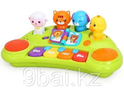 Развивающая игрушка HuiLe Toys Пианино со зверятами 2103A