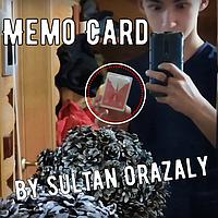 Memo Card by Sultan Orazaly