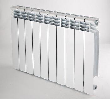 Радиатор алюминиевый FORZA Base AL 80/500 (НТП-185 Вт)