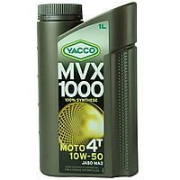 Yacco MVX 1000 4T 10W50 Масло моторное синтетическое
