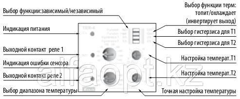 Термостат TER-4/24V