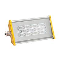 Взрывозащищённый светодиодный светильник OPTIMA-1EX-Р-055-40-50 (10ПрозрачныйРым-гайка)
