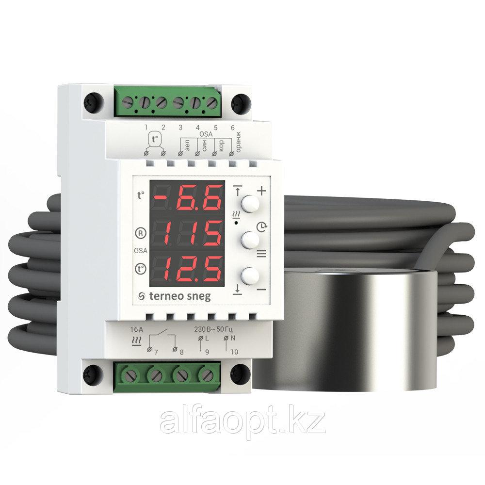 Терморегулятор для систем снеготаяния Terneo sneg с датчиком осадков