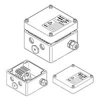 Однофазная соединительная коробка (1xM25 + 3xM20) JB-EX-20-EP (EE x e)