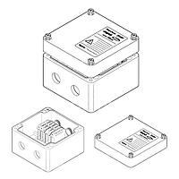 Cоединительная коробка (4xM25) JB-EX-28