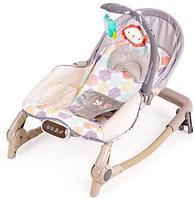 Шезлонг Fitch baby 29290 бежевый