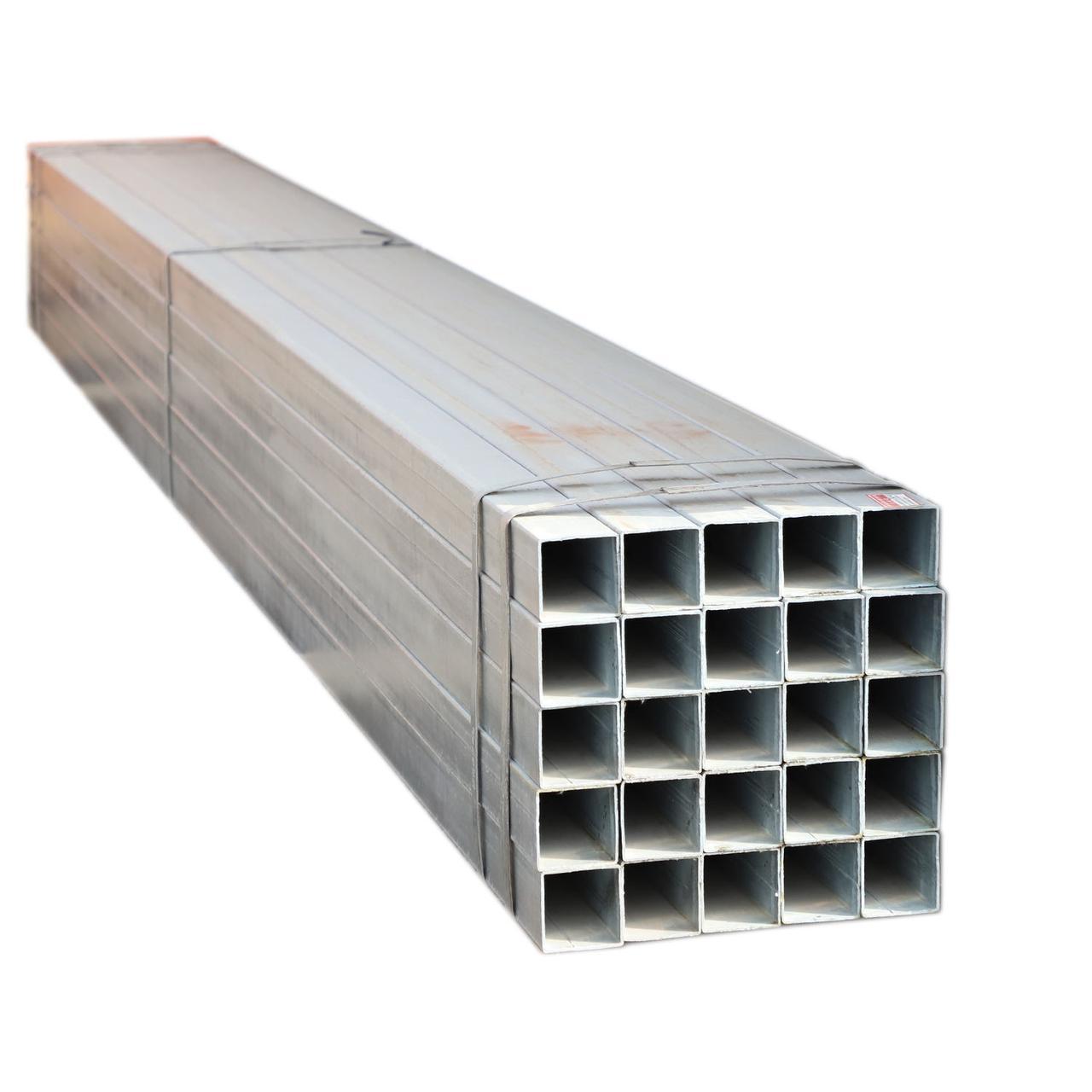 Труба нержавеющая квадратная AISI 430 50х50х4.5