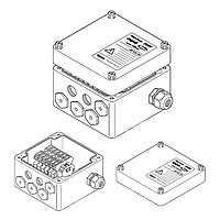 Трехфазная соединительная коробка (1xM32 + 6xM20) JB-EX-21 (EE x e)