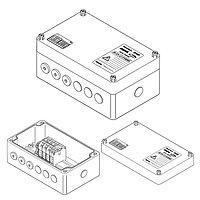 Трехфазная соединительная коробка (1xM40 + 6xM20) JB-EX-21/35MM2 (EE x e)
