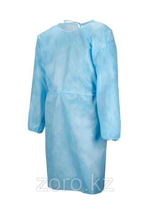Одноразовый защитный халат из нетканого материала