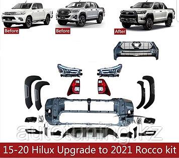 Комлпект рестайлинга на Toyota Hilux Revo 2015-2020 под 2021 г. Adventure