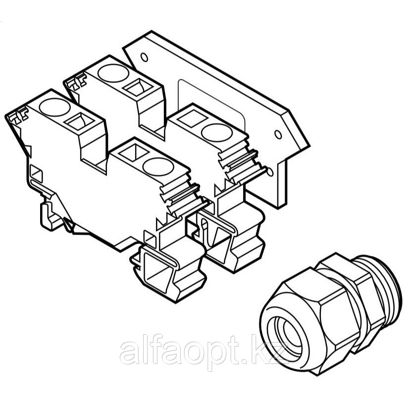Набор для подключения термостата к коробке HWA-WAGO-TSTAT-KIT