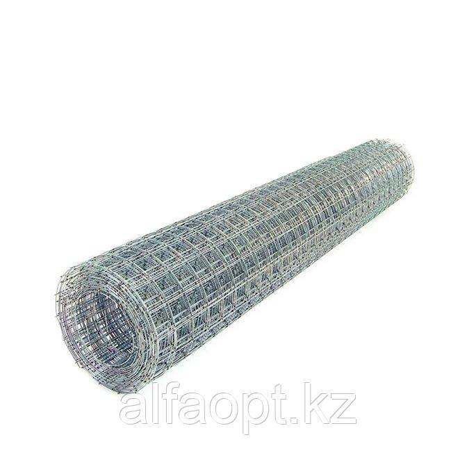 Сетка металлическая гальванизированная для монтажа кабеля, 10 м