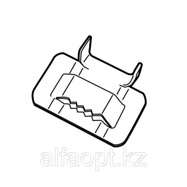 Фиксатор для монтажа крепежной ленты HTG ACC S.STEEL BUCKLE (SNLK) (100 шт)