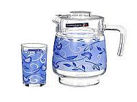 PLENITUDE BLUE набор для напитков 7 предметов