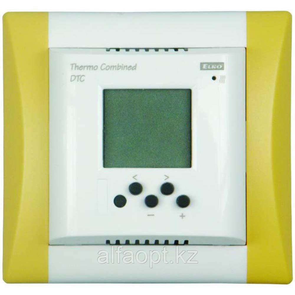 Комплект - термостат DTF, белая рамка Элегант, датчик температуры TC-3m