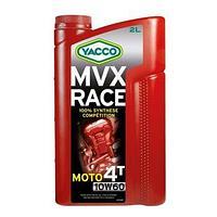 Yacco MVX RACE 4T 10W60 Масло моторное синтетическое