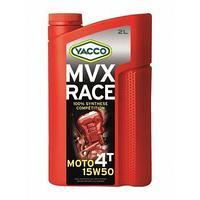 Yacco MVX RACE 4T 15W50 Масло моторное синтетическое