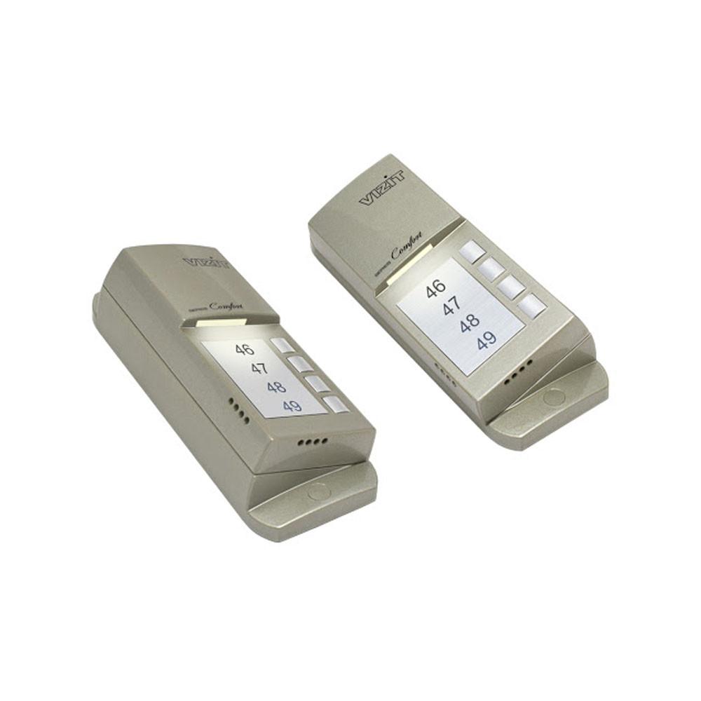 Блок вызова аудиодомофона VIZIT БВД-405А-4 на 4 абонента