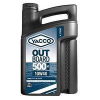 YACCO OUTBOARD 500 4T 10W40 для 4-х тактных подвесных лодочных двигателей