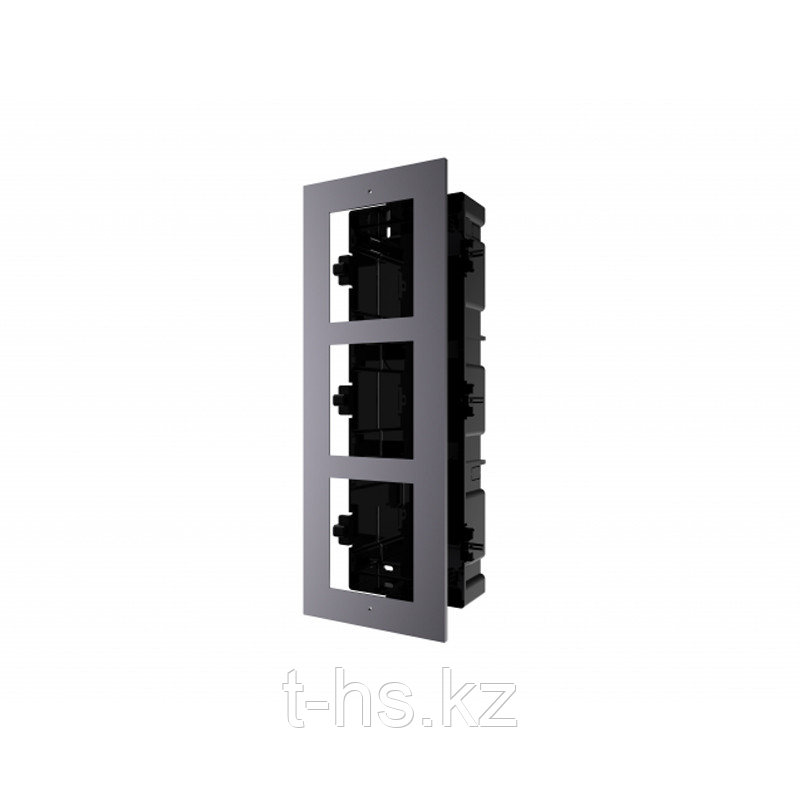 Hikvision DS-KD-ACF3/Plastic  декоративная рамка на 3 модуля