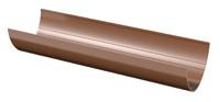 Водосточная система желоб коричневый 3м (D-120мм) VERAT