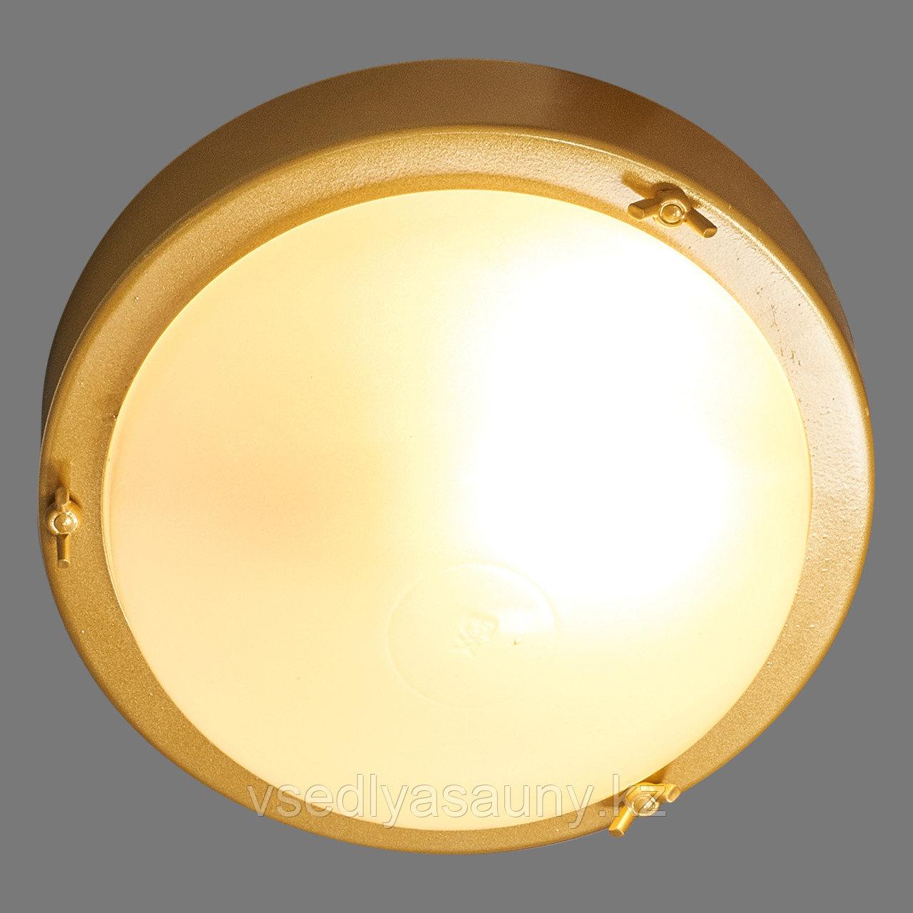 """""""Терма 1"""" НББ 03-100-001 IP65 корпус золото. ИУ Светильник"""