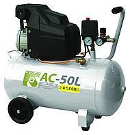 Воздушный компрессор, АС-50L (50 литров)